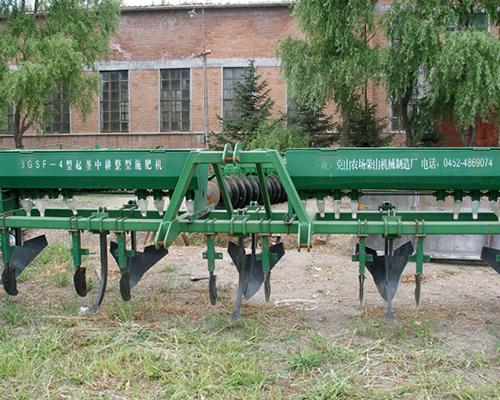 3GSF-4型起垄中耕整型施肥机